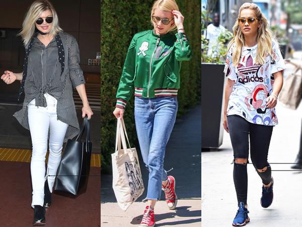 Para Selebriti Hollywood Ini Buat Model Celana Jeans 'Jadul' Jadi Tren Baru