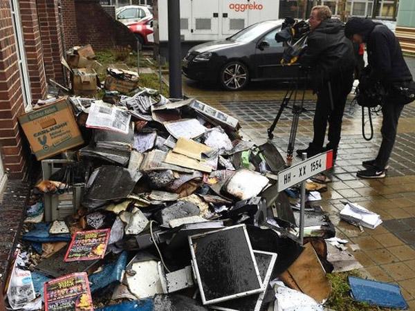 Cetak Ulang Kartun Nabi, Kantor Koran di Jerman Ini Dilempar Api!