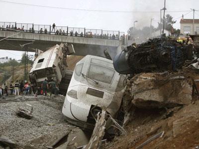 60 Jiwa Tewas, Spanyol Alami Kecelakaan Kereta Terbesar