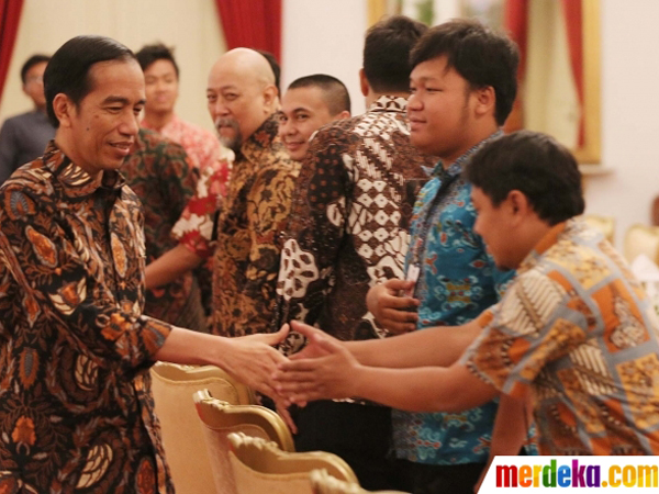 Undang Komika ke Istana, Jokowi Setuju Ada Stand Up Comedy Perebutkan Piala Presiden