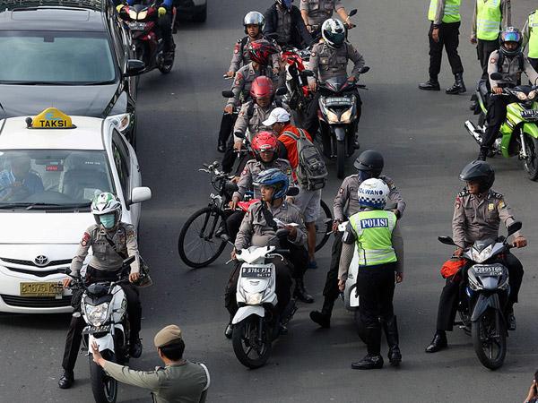 Pemprov DKI Perluas Larangan Sepeda Motor di Jalan Jakarta September Mendatang