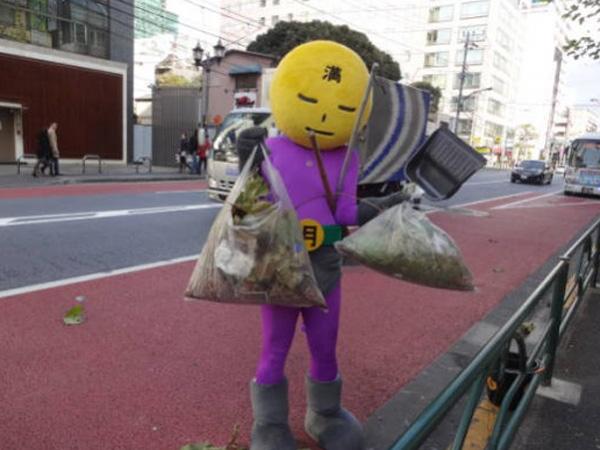 Wah, Jepang Kini Punya 'Superhero' yang Siap Jaga Kebersihan Kota Tokyo!