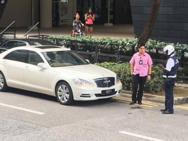 Polisi Tegas Berani Tilang Mobil Presiden Singapura, Galak atau Keren?