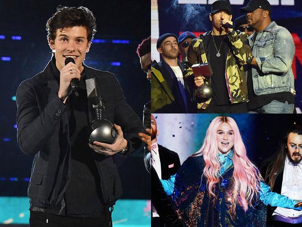 Diborong Shawn Mendes, Berikut Daftar Pemenang 'MTV EMA 2017'