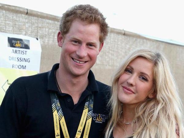 Terlihat Mesra, Pangeran Harry Diam-diam Pacari Ellie Goulding?