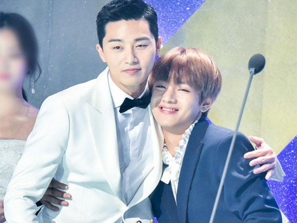 Alasan Park Seo Joon Tak Anggap V BTS Sebagai 'Bintang' Saat Syuting 'Hwarang'