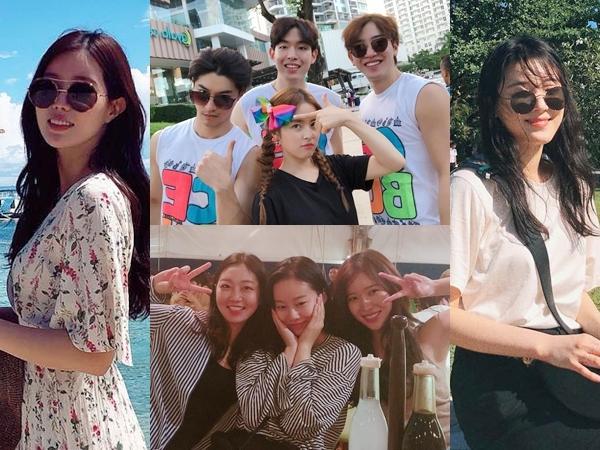 Pemain Drama 'My ID is Gangnam Beauty' Bagikan Foto-foto Liburan Seru di Cebu