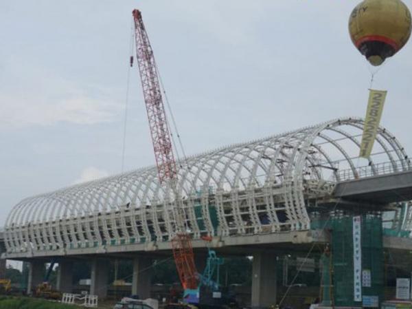 Melihat Lebih Dekat Proses Pembangunan LRT Jabodebek, Kapan Target Selesai?