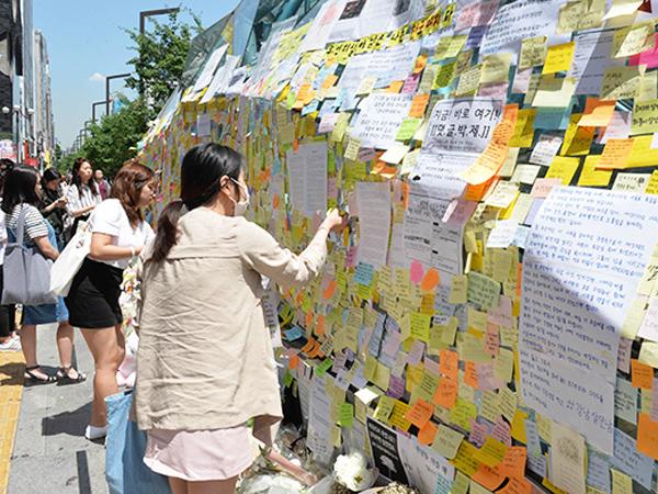 Kasus Penusukan Wanita di Gangnam Tuai Kecaman dan Simpati Warga Seoul