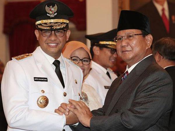 Gubernur Anies Segera Diumumkan Sebagai Calon Wakil Presiden Prabowo?