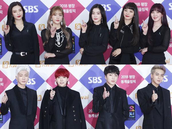 Penampilan Red Velvet dan WINNER Catat Rating Tertinggi Selama 'SBS Gayo Daejun 2017'