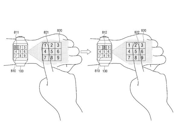 Samsung Patenkan Fitur Smartwatch yang Bisa Proyeksikan Layar ke Tangan!