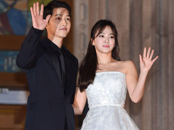 Kembali Dirumorkan Nikah Hingga Hamil, Begini Kata Agensi Song Joong Ki dan Song Hye Kyo
