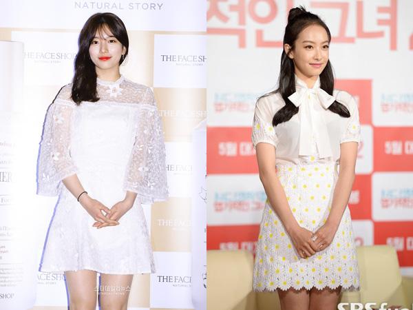 Gaya Fashion White Spring Suzy miss A dan Victoria f(x), Siapa Termodis?