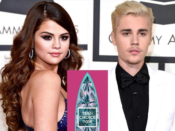 Didominasi Justin Bieber dan Selena Gomez, Ini Daftar Nominasi Teen Choice Awards 2016!