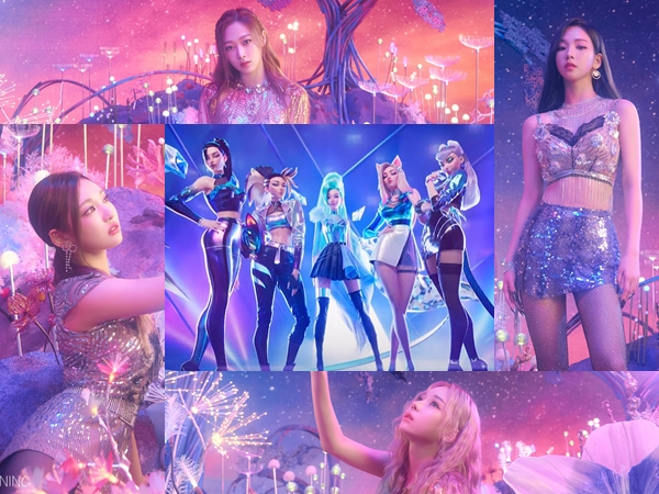 Netizen Berspekulasi Konsep aespa Terinsipirasi Girl Grup Virtual Game League of Legends