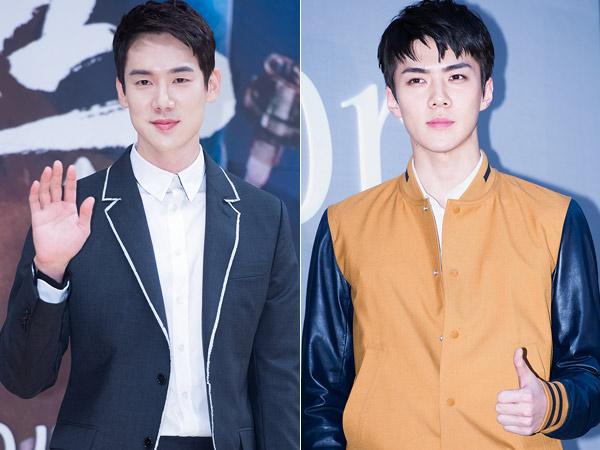 Sangat Mirip, Bukti Foto Tunjukkan Sehun EXO Bak Kakak Beradik dengan Aktor Tampan Ini!
