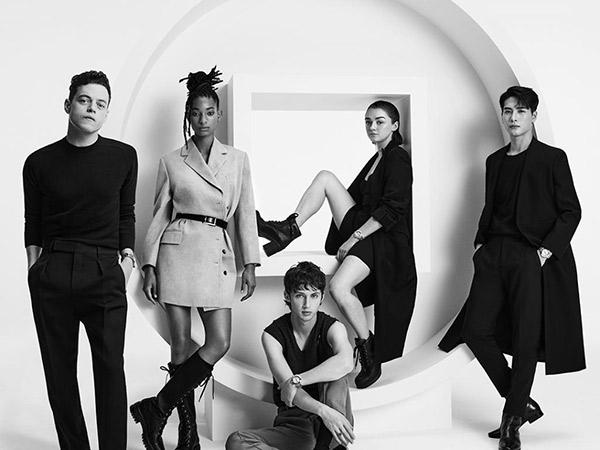 Jackson GOT7 Pose Bareng Rami Malek Hingga Troye Sivan untuk Promosi Cartier