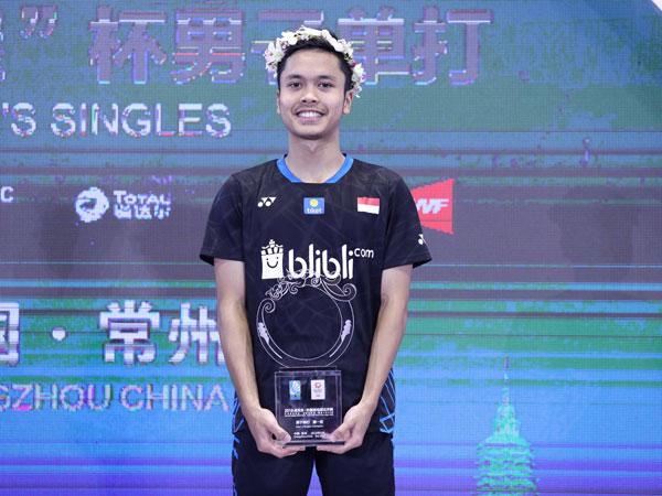 Cerita Anthony Ginting yang Tak Ingin 'Jumawa' Setelah Juarai China Open 2018