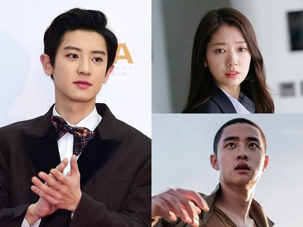 Chanyeol Puji Habis Kemampuan Akting Park Shin Hye dan D.O