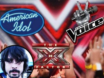 Wah, American Idol, The Voice, dan X Factor Dikecam Vokalis Foo Fighters!