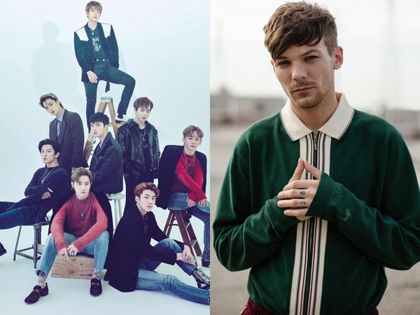 Sempat Dituduh Plagiat, Nama Louis Tomlinson Kini Masuk Kredit Lagu EXO 'Love Shot'