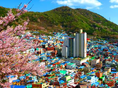 Uniknya Warna-warni Desa Lego di Korea Selatan