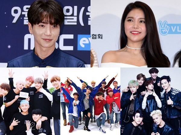 Dipandu Oleh Leeteuk & Solar, Sederet Idola K-Pop Ini Siap Meriahkan '6th Gaon Chart Music Awards'!