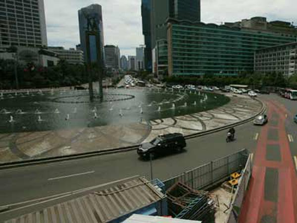 H-1 Lebaran, Jalanan di Jakarta Mulai Sepi