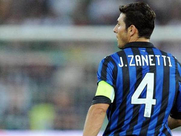 Inter Milan Resmi Pensiunkan Nomor Punggung 4 Milik Javier Zanetti