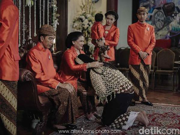 Ini 4 Pesan Penting dari Presiden Jokowi untuk Kahiyang Ayu dan Bobby Nasution