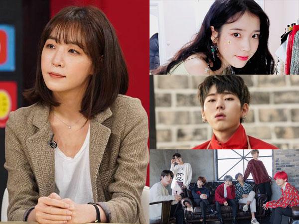 Ini yang Buat Kim Eana Pilih IU, Zico, dan BTS Jadi Idola K-Pop dengan Penulisan Lagu Terbaik
