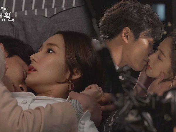 Intip Momen di Belakang Layar Saat Kim Jae Wook dan Park Min Young Beradegan Romantis