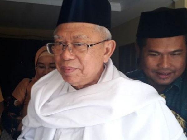 PSI Apresiasi Ma'ruf Amin Tak Bertemu Habib Rizieq Karena Dianggap Bukan Contoh Ulama Milenial