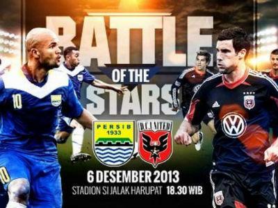 Besok, DC United Tantang Persib Bandung di Stadion Jalak Harupat
