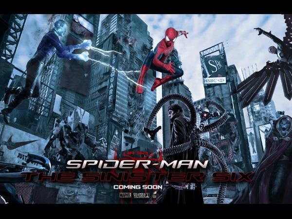 Wah, Sony Pictures Lebih Pilih 'Sinister Six' Ketimbang 'Spiderman'?