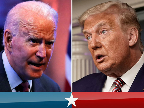 Donald Trump dan Joe Biden Saling Adu Keyakinan Menang Pilpres AS