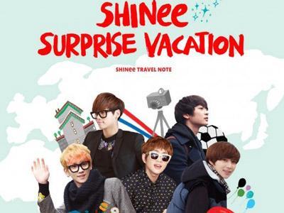 Foto dan Catatan Perjalanan SHINee ke Luar Negeri Segera Dirilis!