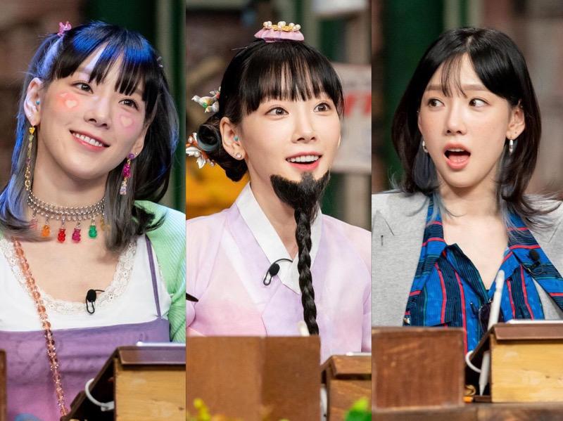 5 Gaya Taeyeon SNSD di Amazing Saturday, Selalu Tampil Beda
