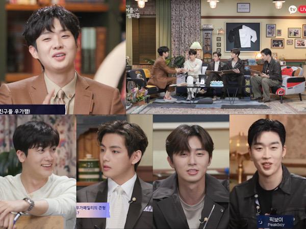 Wooga Squad Hadir, V BTS dan Park Seo Joon Goda Choi Woo Sik di Fan Meeting Online