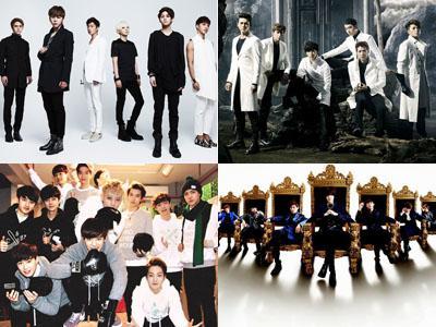 Battle Para Boy Group Papan Atas di Industri K-Pop Sepanjang April, Siapa Juaranya?