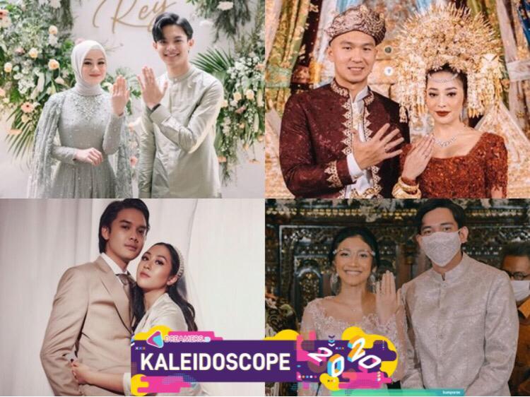 10 Pasangan Artis Menikah di Tengah Pandemi Sepanjang Tahun 2020