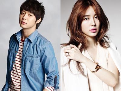 Yoochun JYJ dan Yoon Eun Hye Beri Hadiah Spesial Untuk Kru Drama I Miss You