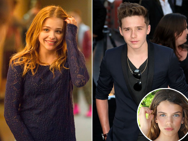 Putus dari Chloe Moretz, Brooklyn Beckham Pacari Aktris Cantik Asal Prancis?