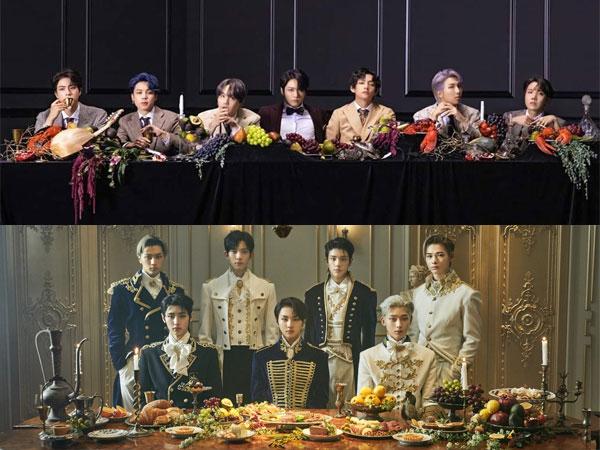 BTS Cetak Rekor Baru, ENHYPEN Debut di Chart Billboard World Albums