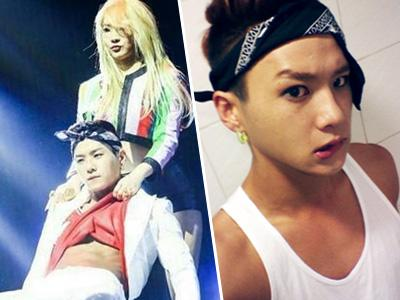 Sexy Dance Bareng CL, Back Dancer Tampan Ini Bikin Heboh di Konser 2NE1!