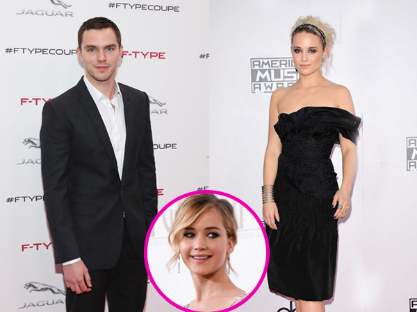 Move On dari Jennifer Lawrence, Nicholas Hoult Pacari Bintang 'Glee' Dianna Agron