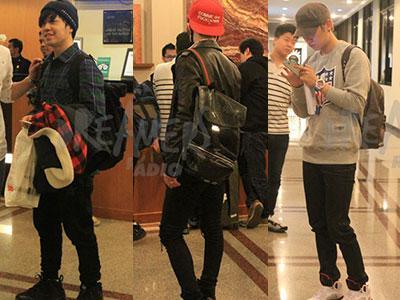Intip Gaya Casual dan Tas Unik Geeks & Phantom Saat Tiba di Bandara Jakarta