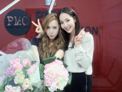 Park Min Young Bangga Akan Persahabatannya Dengan Jessica SNSD Selama 10 Tahun