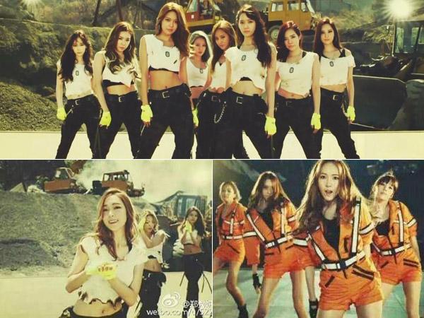 Potongan Gambar dan MV 'Catch Me If You Can' SNSD yang Masih Tampilkan Jessica Jung Bocor!